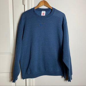 Vintage Wilson Navy sweatshirt blue Size XL